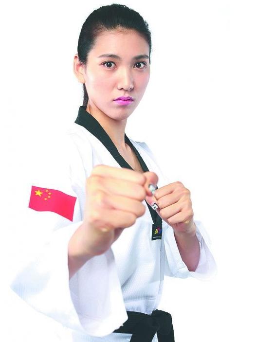 跆拳道也发喜糖 金牌陪练将助力女友冲金